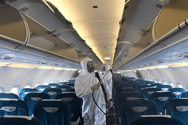 Airline Disinfecting & Covid 19 Impact on Travel